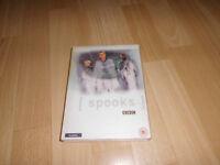 Spooks(BBC) Season one and two dvd boxset