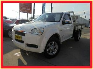 2010 Great Wall V240 K2 White 5 Speed Manual 2D Cab Chassis Holroyd Parramatta Area Preview