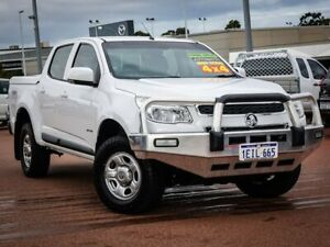 2013 Holden Colorado RG MY14 LX Crew Cab White 6 Speed Sports Automatic Utility Wangara Wanneroo Area Preview