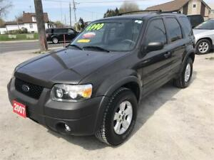 2007 Ford Escape XLT Only 105000 Km