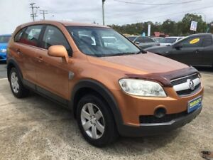 2007 Holden Captiva CG 7 SEATS AUTOMATIC LOW KLMS CX AWD Bronze 5 Speed Automatic Wagon