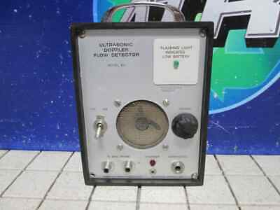 Ultrasonic Doppler Flow Detector Model 811