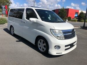 2007 Nissan Elgrand E51 H/Star Mobility Seat White 5 Speed Automatic Wagon Arundel Gold Coast City Preview