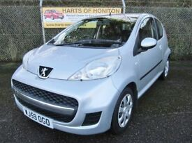 Peugeot 107 1.0 Urban 3DR (silver) 2009