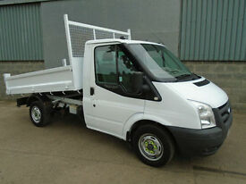 Ford Transit 2.2TDi 110 drop side tipper 2008 58 reg