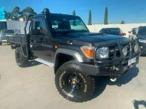 2010 Toyota Landcruiser VDJ79R MY10 GXL Grey 5 Speed Manual Cab Chassis Dandenong Greater Dandenong Preview