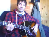 Acoustic guitar classes 1 to 1. North west London