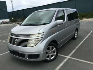 2004 Nissan Elgrand E51 Low Kms Silver 5 Speed Automatic Wagon