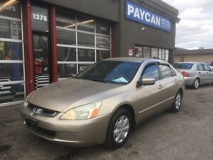 2004 Honda Accord Sdn LX