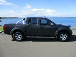 2008 Nissan Navara D40 ST-X (4x4) Grey 5 Speed Automatic Dual Cab Pick-up Horsley Wollongong Area Preview