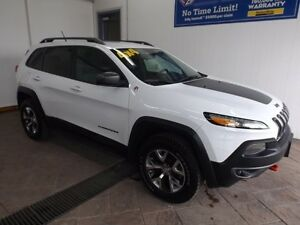 2015 Jeep Cherokee Trailhawk LEATHER NAV