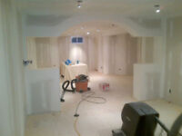 QUALITY DRYWALL-BOARD/TAPE/FINISH/REPAIR-TEXTURED CEILINGS