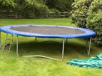 Supertramp Trampoline 14 foot Round with Cover
