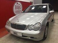 Mercedes-Benz C Class CDI CLASSIC MANUAL (silver) 2001