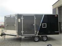 Stealth Prowler *** 8.5x19 *** Deckover 2 Place Sled Hauler !