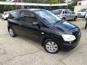 2005 Hyundai Getz TB Upgrade 1.4 Black 5 Speed Manual Hatchback Sylvania Sutherland Area Preview