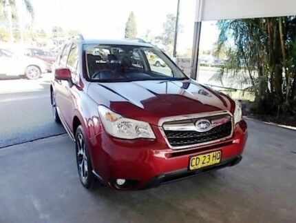 2015 Subaru Forester S4 MY15 2.5i-S CVT AWD Red 6 Speed Constant Variable Wagon