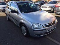 VAUXHALL CORSA 1.0 LIFE, FULL HISTORY, ONLY DONE 78500 MILES BARGAIN £850