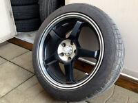 "Mags 18"" 5X114 avec pneus Continental Extreme Contact 235-45-18"