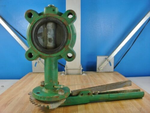 """Demco 2.5"""" WAFER BUTTERFLY VALVE W/ DUCTILE IRON DISC 150PSI"""