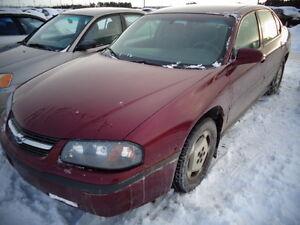 2001 Chevrolet Impala Berline