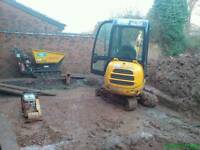Experienced labourer machines driver looking for work