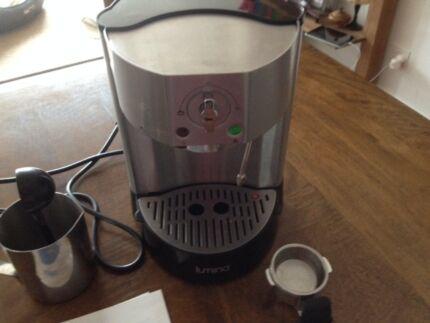 Lumina (Aldi) Espresso Machine - barely used, as new condition Mosman Mosman Area Preview