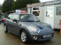 2010 MINI ONE GRAPHITE 1.6 WARRANTED MILES ,, ALL CREDIT DEBIT CARDS ACCEPTED