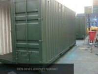 20ft Shipping Container Clearance - Storage use - Green or Blue