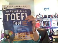 TOEFL BOOKS BRAND NEW WITH CD AND DVD 25$EACH