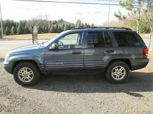 2004 Jeep Grand Cherokee Fully Loaded TOW THAT TRAILER!