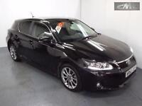 LEXUS CT 200H ADVANCE, Black, Auto, Hybrid, 2013
