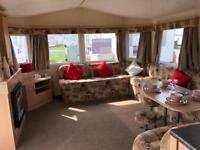 4 bed static caravan, sleeps 10. Skipsea Sands, 12 month park, East Yorkshire