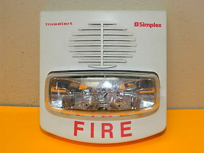 Simplex 4903-9455 True Alert Audble Visible Speaker Strobe 110cd Fire 50 Aval