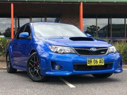 2010 Subaru Impreza G3 WRX PREMIUM SEDAN 4 DR MAN 5 SP AWD 2.5T MY11 Blue Manual Sedan