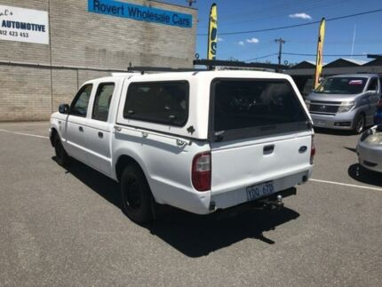 2005 Ford Courier PH GL Crew Cab White 4 Speed Automatic Utility
