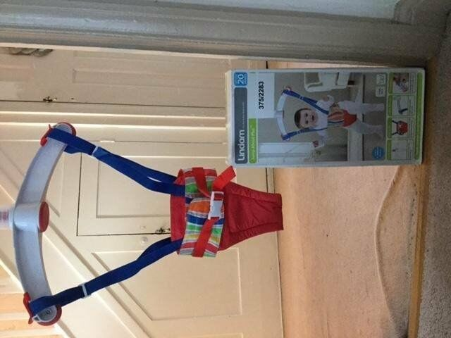*** Lindam Jump About Plus Bouncer - used twice! ***