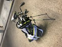 golf set - bag, nike, callaway, ping