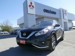 2017 Nissan Murano SL AWD LEATHER NAV SUNROOF HTD SEATS LOADED