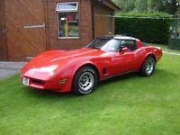 Chevrolet Corvette C3. Good condition. MOT. LHD