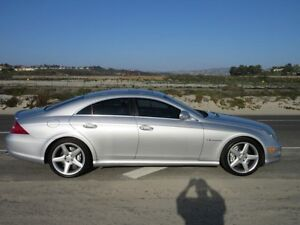 Mercedes cls-55 AMG 500 HP Supercharged.