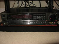 TECHNICS STEREO RECIEVER SA-R377& CD PLAYER&TOWER SPEAKERS
