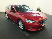 2013 Mazda 6 6C Touring Red 6 Speed Automatic Wagon Clemton Park Canterbury Area Preview