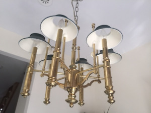 Solid Brass Chandilier
