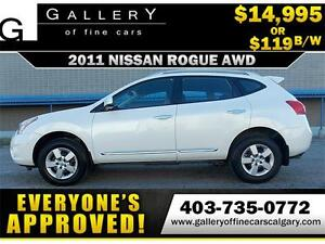 2011 Nissan Rogue S AWD $119 BI-WEEKLY APPLY NOW DRIVE NOW