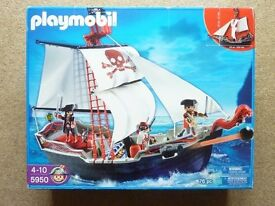 Playmobil 5950 Pirates Set 76 pieces age 4 to 10 years Original Box & Instructions