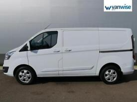 2016 Ford Transit Custom 2.2 TDCi 125ps Low Roof Limited Van Diesel white Manual