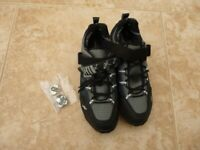 X-Ion Coolmax mtb cycling shoes with cleats size 8 42 NWOT - BARGAIN