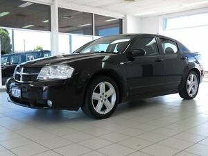 2008 Dodge Avenger JS SXT Black 4 Speed Automatic Sedan Morley Bayswater Area Preview