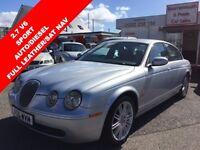JAGUAR S-TYPE 2.7 V6 DIESEL SPORT 4d AUTO 206 BHP FULL LEATHER I (silver) 2006